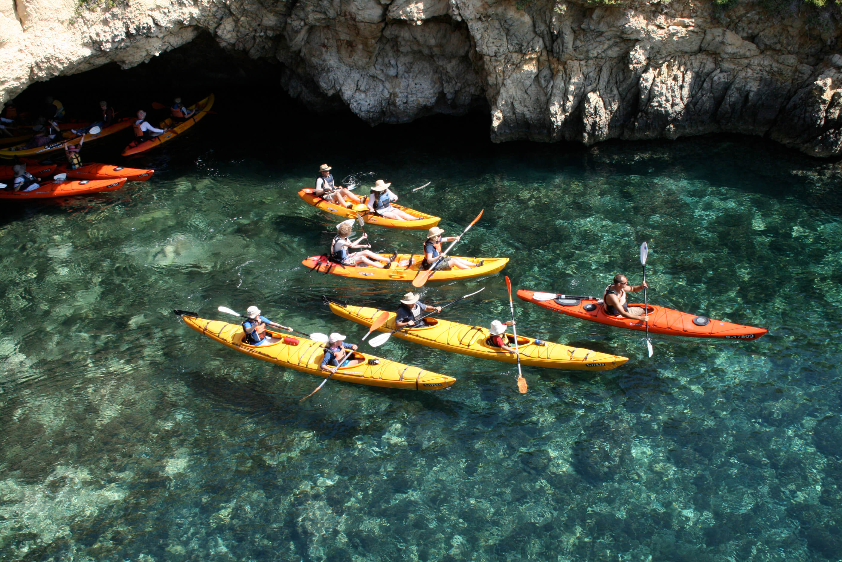 Kayaking Malta Tour